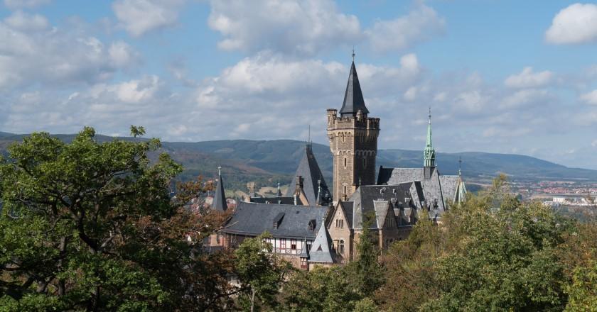 Blick vom Agnesberg auf Wernigerode
